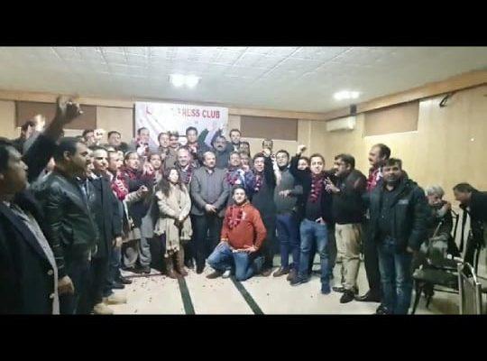 پنجاب یونین آف جرنلسٹس کے الیکشن 2021 میں جرنلسٹس یونٹی پینل کا کلین سویپ